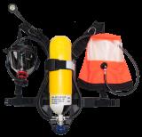 Αναπνευστική συσκευή 60 λεπτών με 2  εξόδους