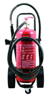 Πυροσβεστήρας  τροχήλατος  50 kg  ξ. σκόνης  ABC 40%