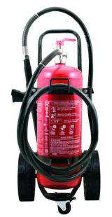 Πυροσβεστήρας  τροχήλατος  25 kg  ξ. σκόνης  ABC 40%