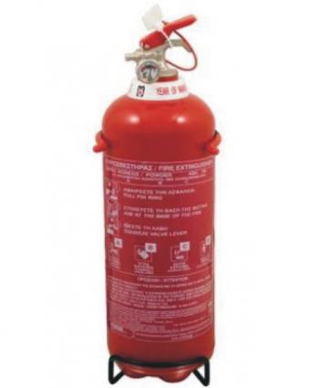 Πυροσβεστήρας   φορητός 2 kg ξ σκόνης ABC 40%